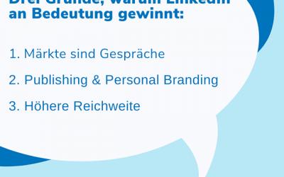 Deshalb ist LinkedIn 2020 für Ihr Personal Branding entscheidend – vor Xing