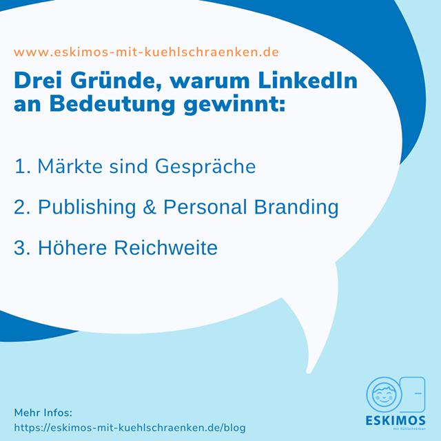 Drei Gründe warum LinkedIn besser für Personal Branding ist als Xing