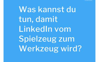 Wie baut man LinkedIn als erfolgreichen Vertriebskanal auf?